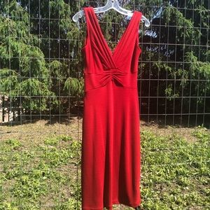 Fun, Red Dress from Banana Republic, NWT